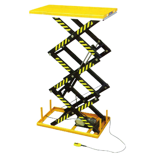 Three Shear Type Electric Lifting Platform
